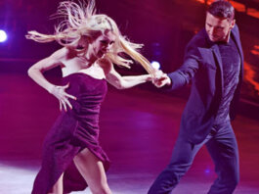 Певец Сергей Лазарев и Екатерина Осипова на шоу Танцы со звездами