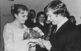 Екатерина Градова на свадьбе